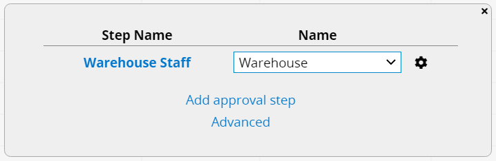 Customize approval steps and rules